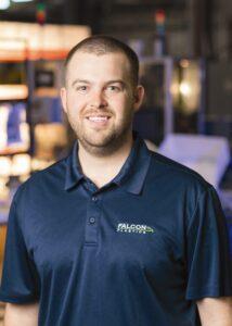 Kyle Bender of Falcon Plastics