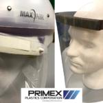 Primex bio helmets and shields