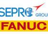 Sepro Group + Fanuc Logos